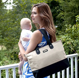 Colorblock Diaper Tote from Storksak